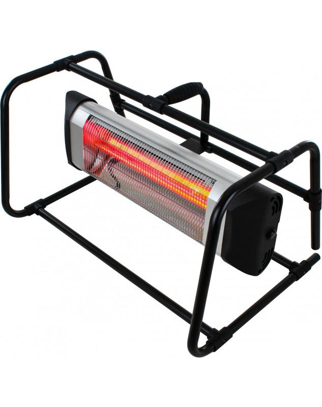 Calefactor halógeno por infrarrojo CasaFan 70033 CASATHERM B2000-II Gold LowGlare