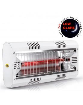Calefactor halógeno por infrarrojo de gran potencia Mo-El 791LGW Hathor IP55