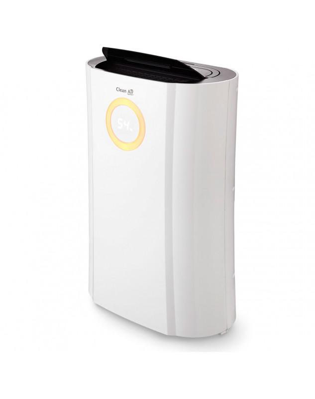 Deshumidificador y purificador Clean Air Optima CA-704 función secado de ropa