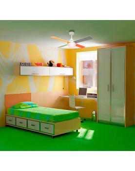 ventiladores de techo para habitaciones infantiles