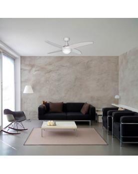 Ventilador para techo con luz Sulion 075148 Fenix con mando a distancia