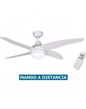 Ventilador para techo con luz Sulion 075148 Albatros blanco