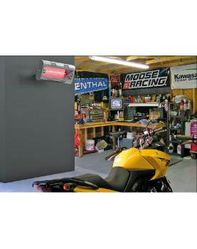 Calefactor por infrarrojos para mecánicos o locales comerciales