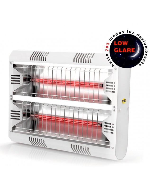 Calefactor halógeno por infrarrojo de gran potencia Mo-El 792LGW Hathor IP55