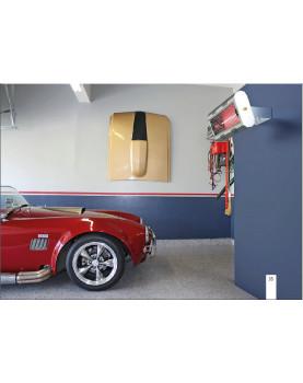 Calefactor halógeno para tiendas o almacenes