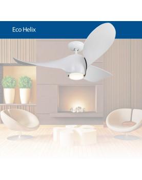 ventilador de techo diseño morderno 313254 ECO HELIX blanco