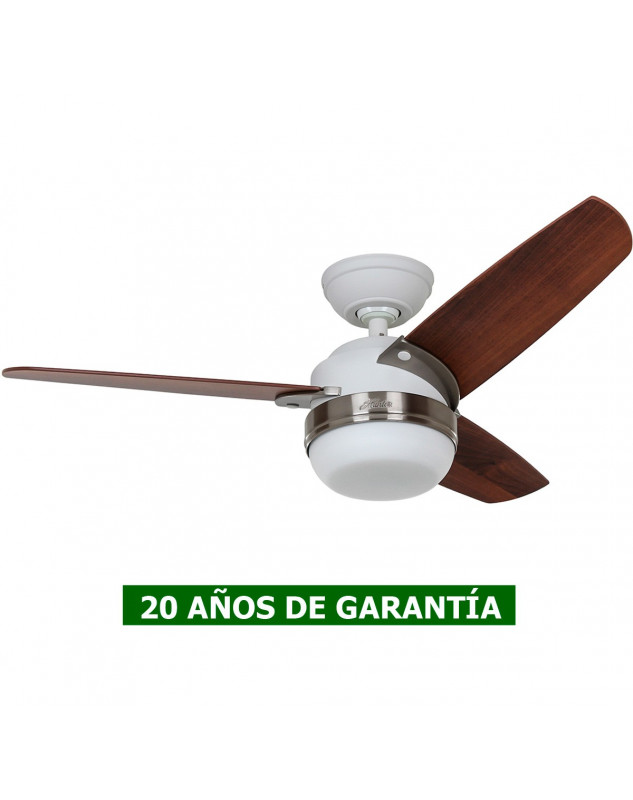 Ventilador de techo Hunter blanco