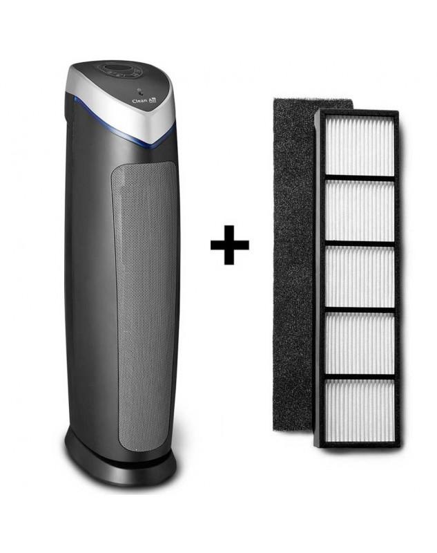 Purificador de aire HEPA Clean Air Optima CA-508 hasta 60 m2 más set de filtros