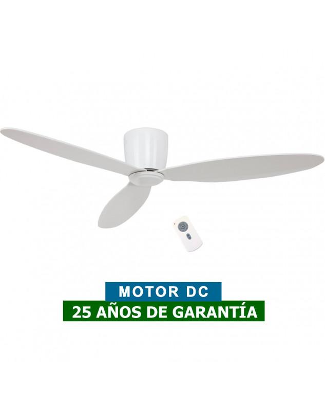 ventilador blanco de techo para techos bajos
