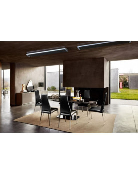 vista calentador radiante casafan 9832 HOTTOP 3200 W posición de instalación
