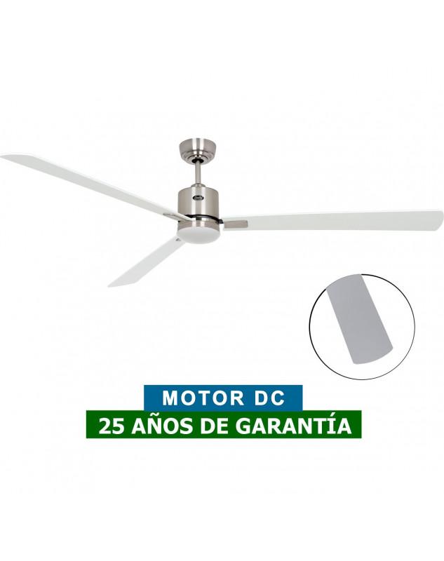 Ventilador de techo con luz ECO NEO II de color blanco o gris