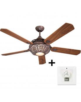 ventilador clásico de techo con interrutor