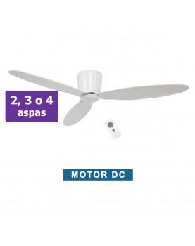 Ventilador de techo CasaFan Eco plano blanco motor bajo consumo.