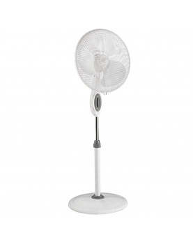 ventilador de pie GREYHOUND SV blanco