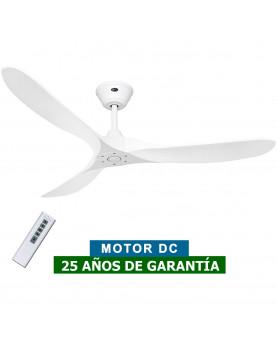 ventilador de techo blanco con forma aerodinamica CasaFan Eco Genuino 315228
