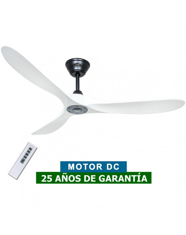 ventilador de techo blanco con forma aerodinamica CasaFan Eco Genuino  315226