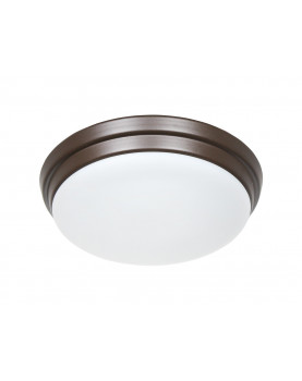 Luz para ventiladores de techo Eco Plano II marrón