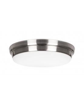 Luz para ventiladores de techo Eco Plano II metal brillante