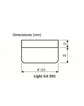 Esquema kit de luz CasaFan EN1 WE 2652