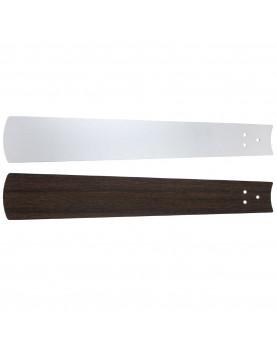 Aspas reversibles para ventildor de techo Casafan Eco Neo II wengué / gris claro