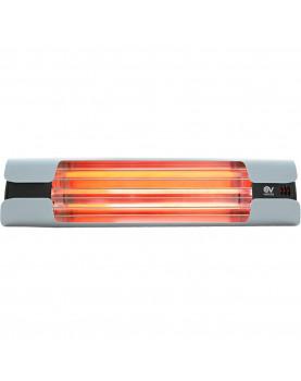 Calentador de cuarzo por infrarrojo Thermologik Disign 70003 gris claro
