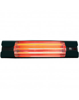 Calentador de cuarzo por infrarrojo Thermologik Design 70004 gris antracita