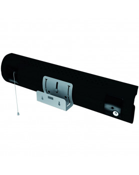 Calentador de cuarzo por infrarrojo Thermologik Design 70005 gris oscuro soporte a pared