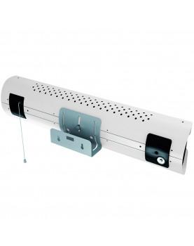 Calentador de cuarzo por infrarrojo Thermologik Disign 70007 color blanco para baño