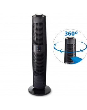 ventilador de torre negro Clean Air Optima CA-406B