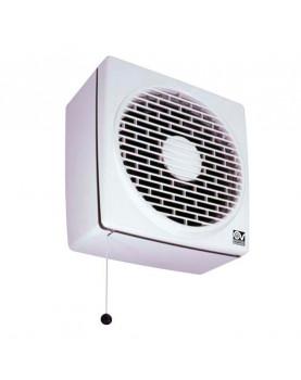 extractor de pared axial Vortice 12611 Vario 150/6 P-Q  olores baño extraer