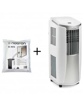 Aire acondicionado móvil para ambientes hasta 26 m2 Trotec con sello de ventana AirLock 100