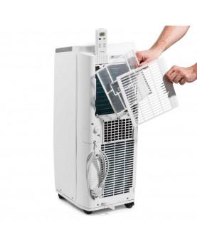 Aire acondicionado movil para ambientes hasta 26 m2 Trotec filtros lavables y de rápido cambio.
