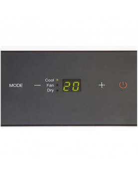 panel frontal del Trotec PAC 2100 X