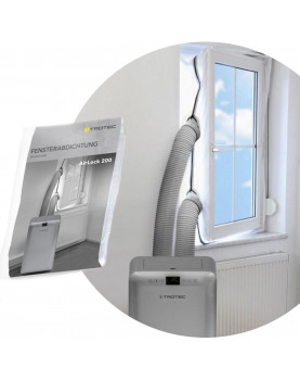 sello de ventana airlock 200 para aires acondicionados portátiles