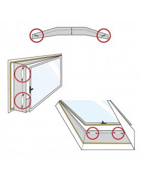 sello de ventana hermético para aires acondiconados trotecAirLock 200