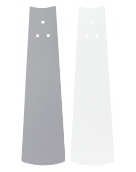 ventilador de techo blanco o gris de bajo consumo