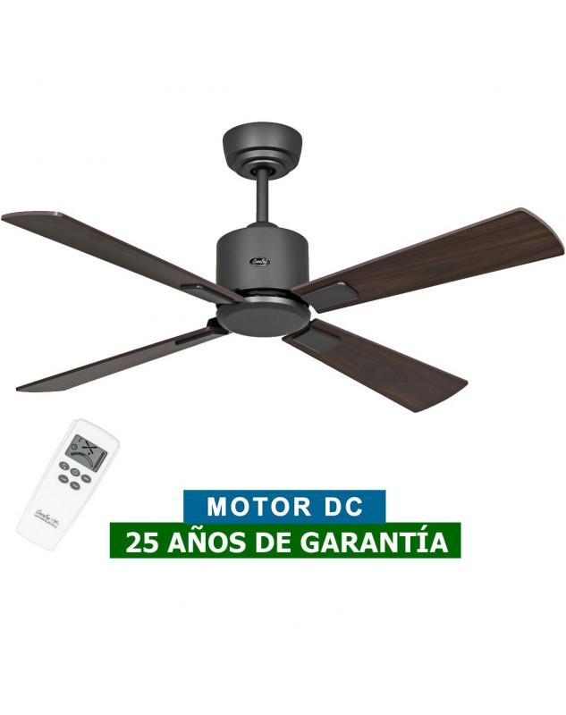 ventilador de techo eco neo III BG-NB/KI motor oscuro