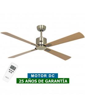 ventilador de techo CasaFan ECO NEO III con motor latón antiguo o dorado