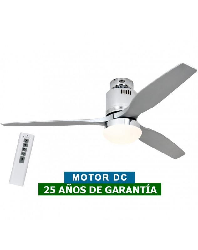 ventilador para techos bajos DC con mando