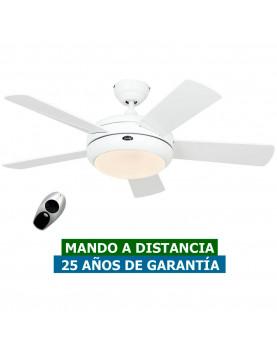 Ventilador de techo con luz CasaFan 9510561 TITANIUM 105 blanco satinado / blanco barato