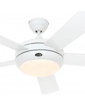 ventilador techo blanco con mando y luz