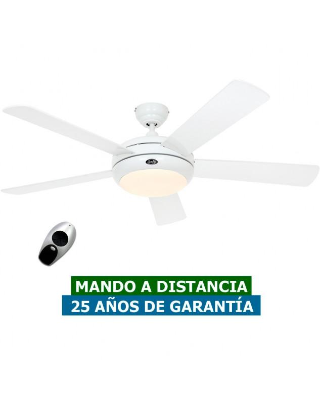 Ventilador de techo con luz CasaFan 9513261 TITANIUM 132 blanco satinado barato con luz