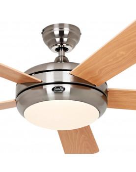 Ventilador de techo con luz CasaFan 9513260 TITANIUM 132