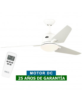 Ventilador de techo con luz CasaFan 513286 ECO AVIATOS 132 Blanco WE-WE DC