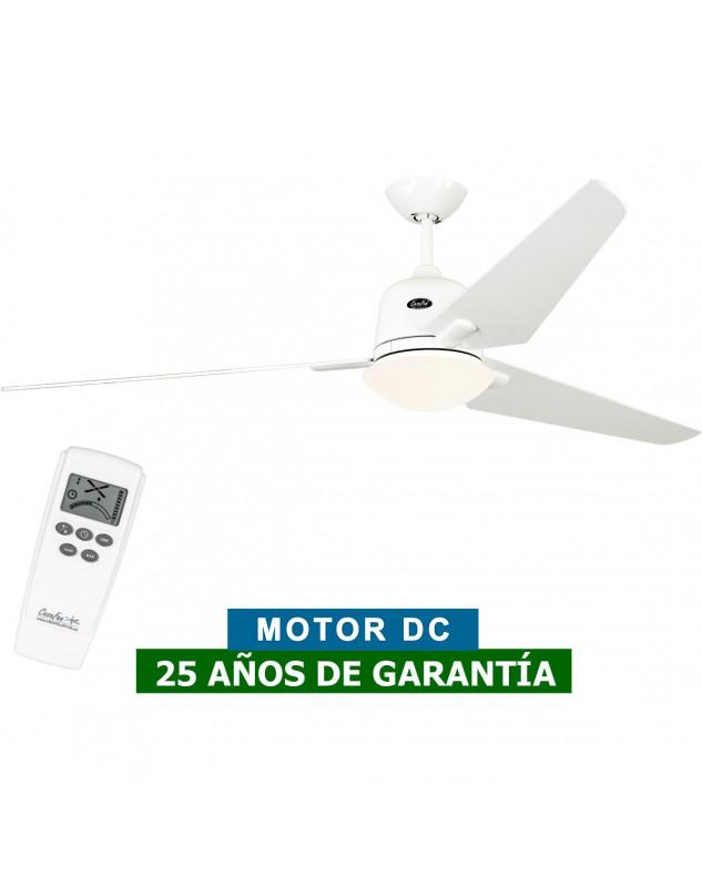 Ventilador de techo con luz CasaFan 516086 ECO AVIATOS 162 blanco/ blanco WE-WE DC