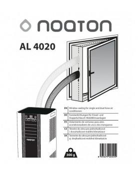 aislamiento para ventanas de aires acondicionados portátiles de 2 mangueras