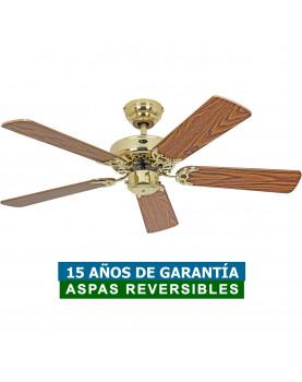 Ventilador de techo CasaFan 510309 CLASSIC ROYAL 103 roble antiguo/ latón pulido