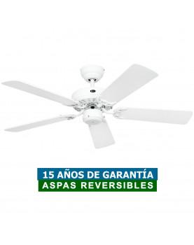Ventilador de techo CasaFan 510303 CLASSIC ROYAL 103 blanco o mimbre
