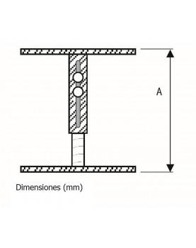 Soporte para techo falso de 20 a 35 cm