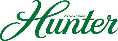 Hunter logo ventilador de techo